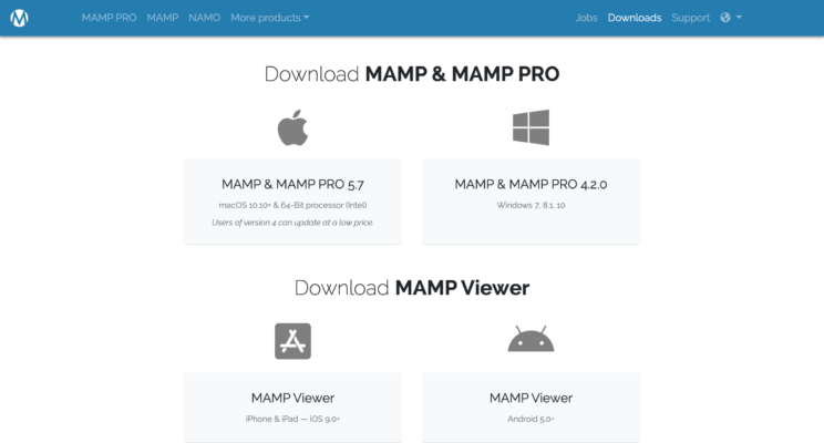 Downloads - MAMP & MAMP PRO - www.mamp.info
