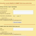 MySQLを利用するためのXAMPPの設定